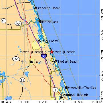 Beverly Hills Florida Map by Beverly Beach Florida Fl Population Data Races