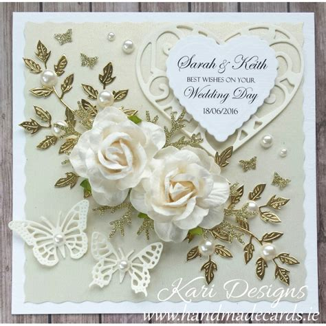 Wedding Card Card by Handmade Wedding Card