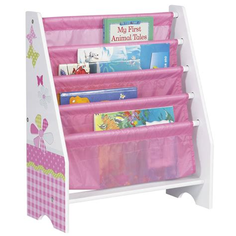 character sling bookcase bedroom storage peppa