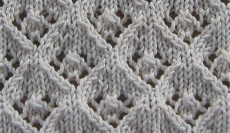 how to do lace knitting elfinlace
