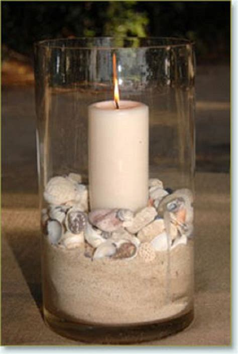 wedding centerpieces with candles and sand wedding centerpieces simple wedding inspiration