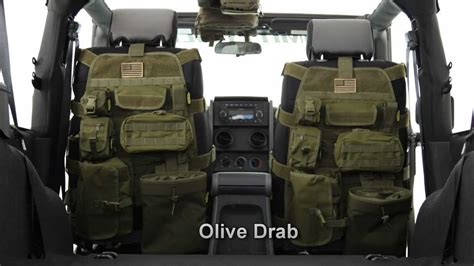 tactical jeep liberty smitttybilt gear jeep seat covers jeep interior youtube