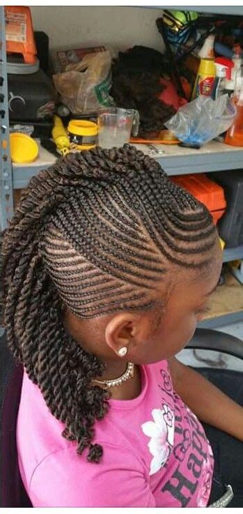 braided mohawk hairstyles for kids little girls braided mohawk hairstyles for little girls