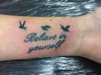 tattoo quotes believe in yourself quote tattoos page 4 tattooimages biz