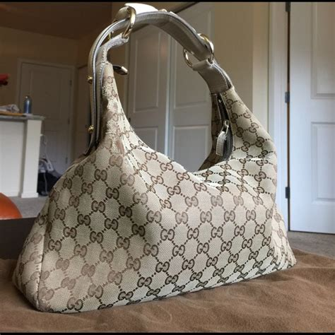 gucci bags monogram horsebit hobo shoulder bag poshmark