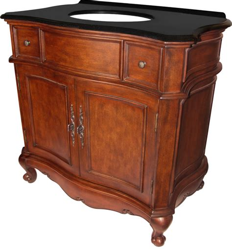 36 inch single sink bathroom vanity in mahogany uvlklk5936