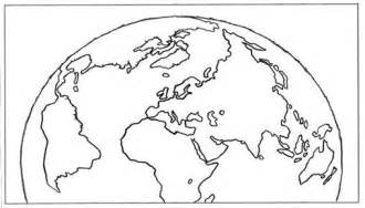 World Outline Drawing by Susan The World Map Outline