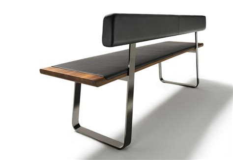 bench with backrest nox bench with backrest by team 7 stylepark