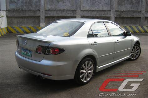 2005 mazda 6 price review 2005 mazda6 2 3 philippine car news car reviews