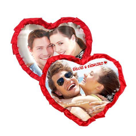 cuscino san valentino cuscino cuore fronte retro con frappa