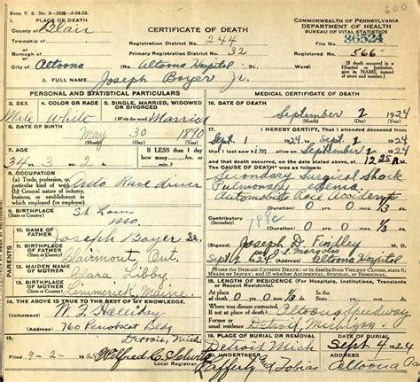 Pennsylvania Birth Records Pennsylvania Certificates Now Available Ancestry