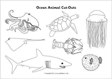 best photos of ocean animals worksheets cut out ocean best photos of ocean animal cutouts ocean sea animal