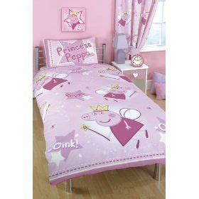 Childrens Duvet Tog Guide Peppa Pig Princess Peppa Stars Duvet Cover Amp Pillowcase