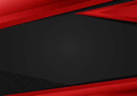 abstract template red geometric triangles contrast black