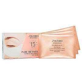 Mask Naturgo Sheisedo Gold Sachet shiseido benefiance wrinkeresist 24 retinol express smoothing eye mask reviews photos