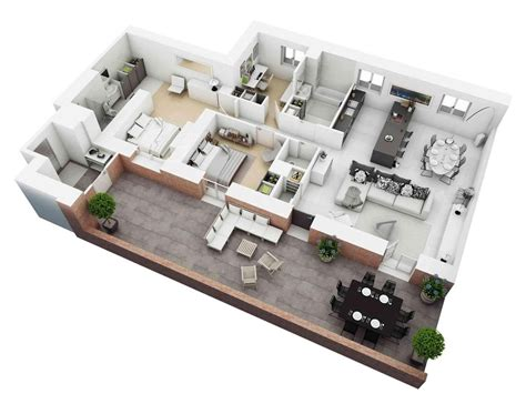 home design plans ground floor 3d 3d home floor plan ideas android apps on google play