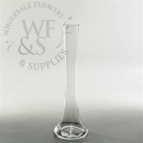 mini glass tower vase 12 quot wholesale flowers and supplies