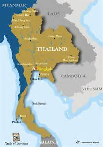 Map of thailand dr odd
