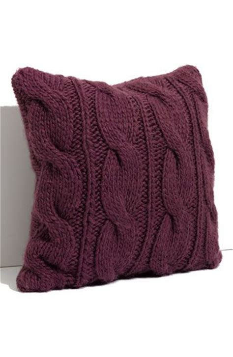 purple cable knit throw knit pillow cable knit and knits on