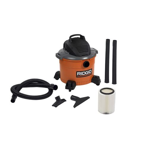 ridgid 9 gal 4 25 peak hp vac wd0970 the home depot