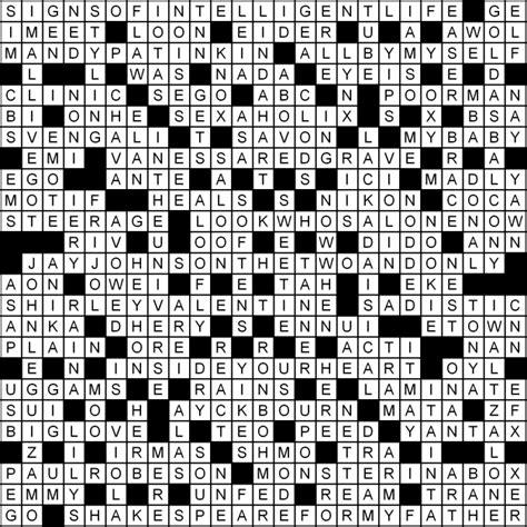Brief Glance Crossword Clue shows