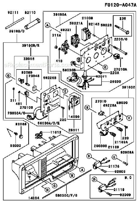 kawasaki 2900 generator wiring diagram wiring diagram