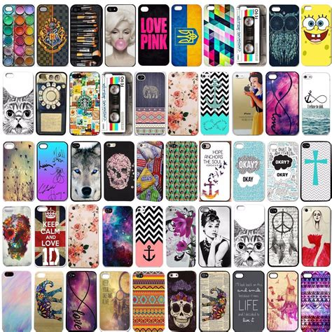 Hardcase Pattern Skin Iphone 4 4s colorful painted pattern cover back skin for