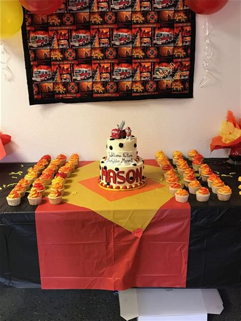 Firefighter Baby Shower by Best 25 Firefighter Baby Showers Ideas On