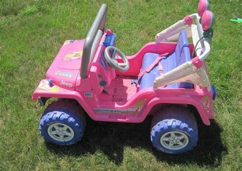 pink jeep power wheels here s why no could inspire more jealousy than a