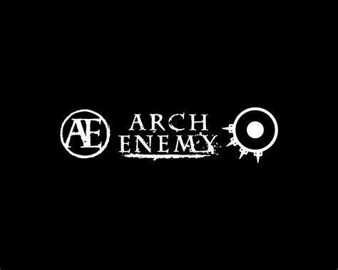 arch enemy logo and wallpaper band logos rock band