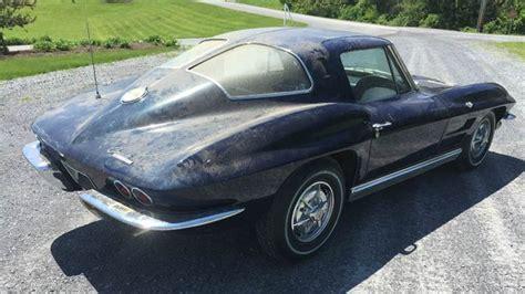 1962 corvette split window needs new rugs 1963 corvette split window