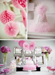 pinke dekoration kara s ideas pretty in pink planning ideas