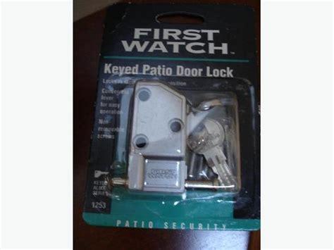 Best Patio Door Lock Brand New Best Aluminum Keyed Patio Door Lock With 3 Saanich