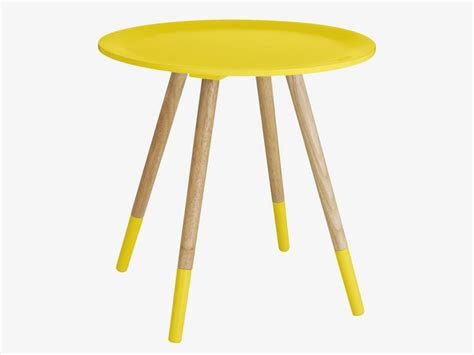 Habitat Side Table Habitat Blossom Yellow Side Table Colorful Living With A Retro Touc