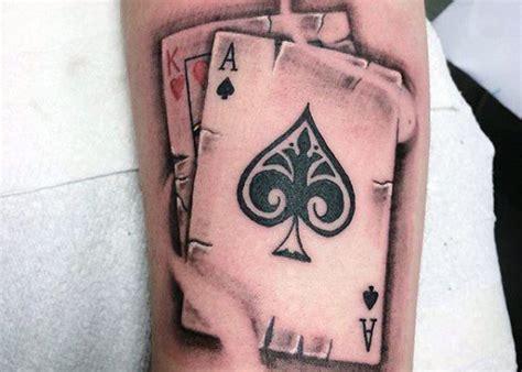 varias imagenes de tatuajes tatuajes de as de picas significado y recopilaci 243 n de dise 241 os