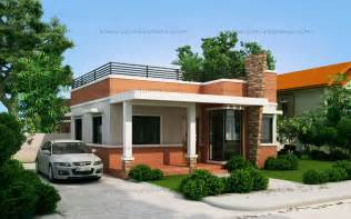 delightful Simple Design Of Two Storey House #6: Small-house-design-2015016_View01-WM.jpg?09ada8