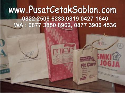 Cetak Paper Bag Dan Thanks Card jasa cetak paper bag di bandung pusat cetak sablon merchandise