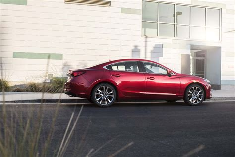 mazda 6 leather 2017 mazda6 gains nappa leather other small updates
