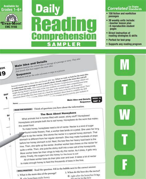 daily reading comprehension grade 3 daily reading comprehension evan moor daily reading comprehension 3rd grade pdf