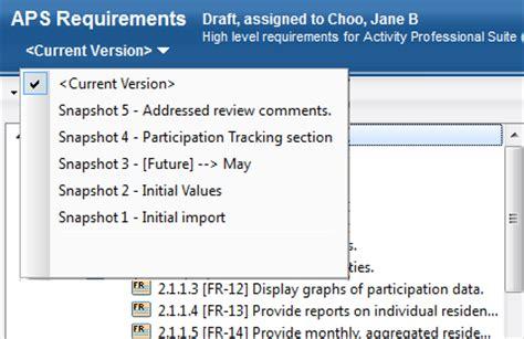 requirements management esl