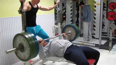 max bench record bench press record 35x100kg youtube