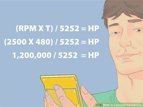 how to calculate motor hp how to calculate horsepower 12 steps with pictures