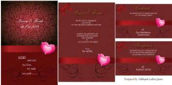 wedding card sabhyatasdesign