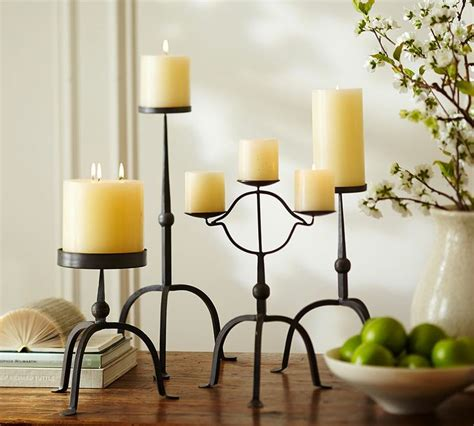 bradley pillar candle holders candles candleholders