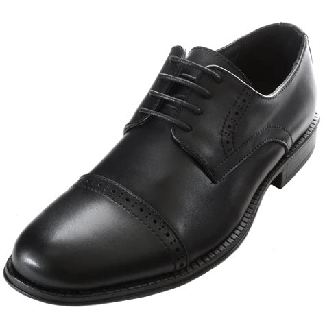 Genuine Leather Brogue Oxfords alpine swiss arve mens genuine leather oxford dress shoes