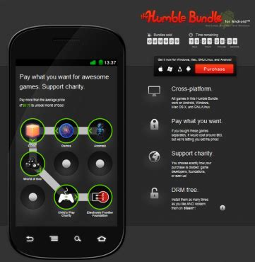 humble bundle android the humble bundle for android therror