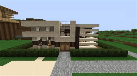 modern houses minecraft small modern house minecraft project