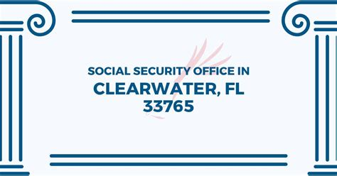 social security office in clearwater florida 33765 get
