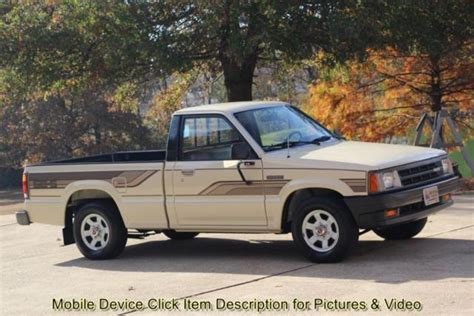 old car manuals online 1985 mazda b2000 head up display 86 mazda b2000 se5 1 owner 81k miles show truck 5 speed man 4 cylinder shipping for sale photos