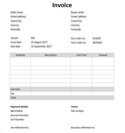 sle invoice for accounting services what is an invoice double entry bookkeeping